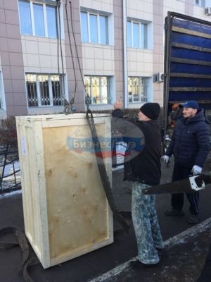 Перемещение медицинского оборудования в Омске