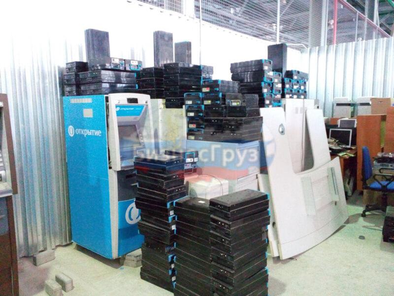 Транспортировка банковского оборудования на склад
