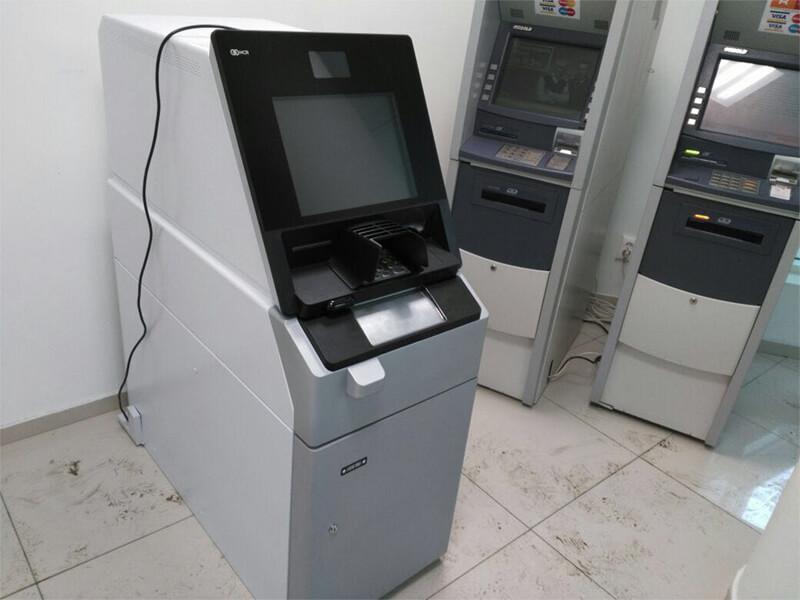 Перемещение банкомата на хранение Томск