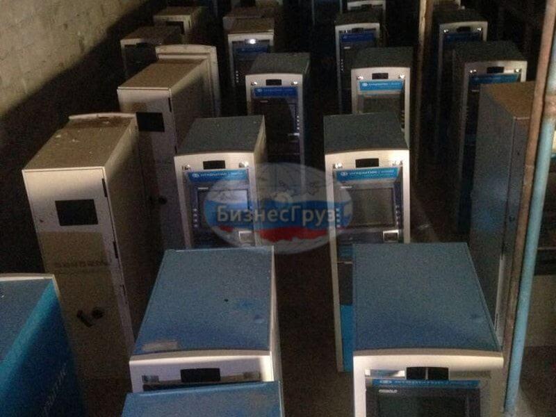 ещение транспортировка банкоматов на склад