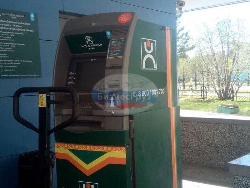 Транспортировка банкоматов в Мурманске