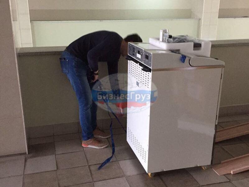 Транспортировка банкоматов в Уфе