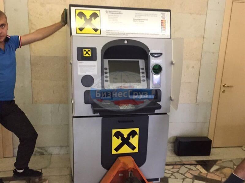 Транспортировка банкоматов в Иркутске