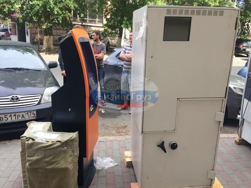Транспортировка банкоматов в Рязане
