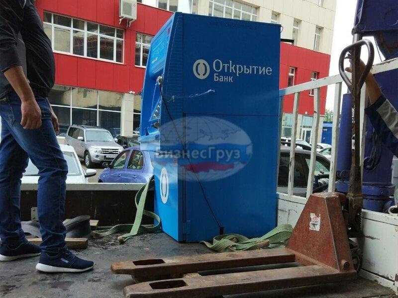 Транспортировка банкоматов в Ухте