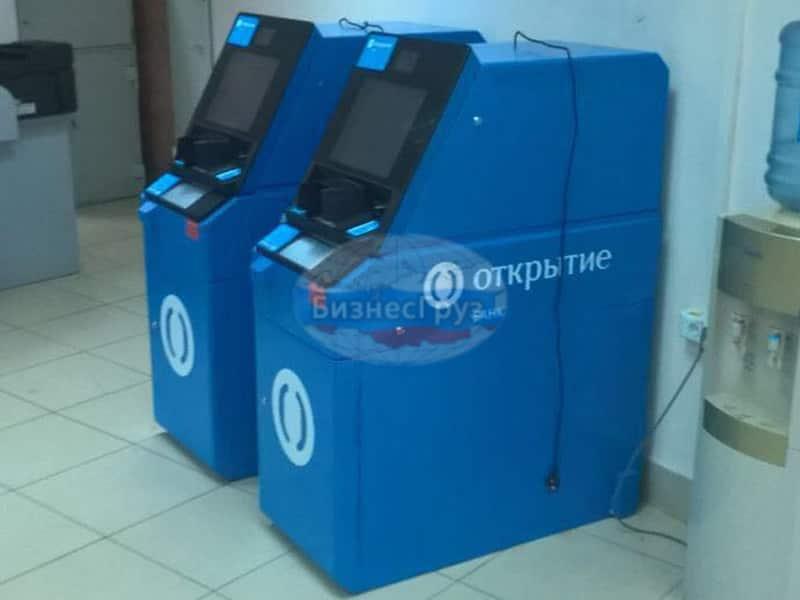 Перемещение, монтаж - демонтаж банкоматов Рязань