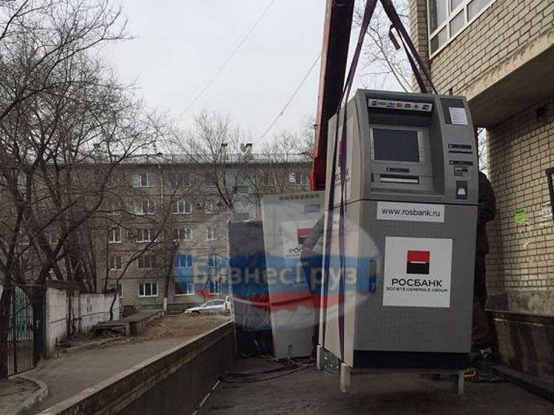 Перемещение банкоматов в Оренбурге