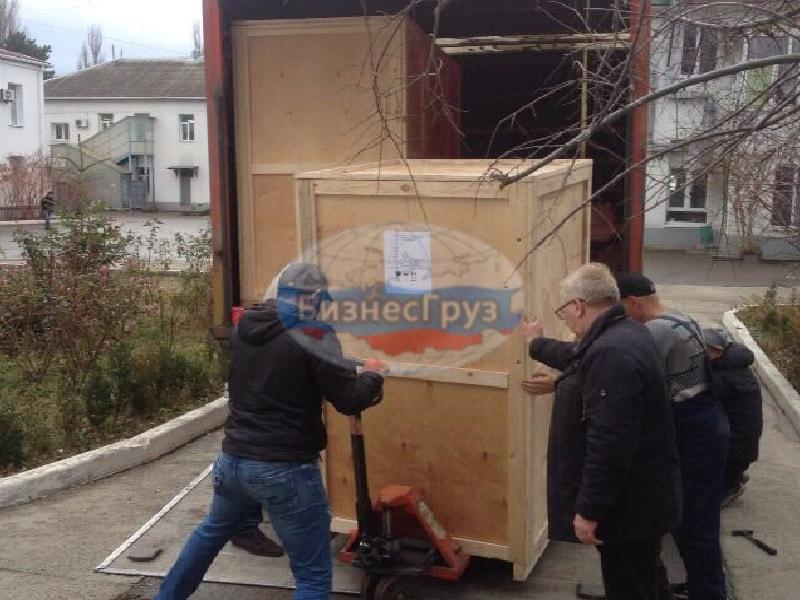 Разгрузка мед. оборудования в Белгороде