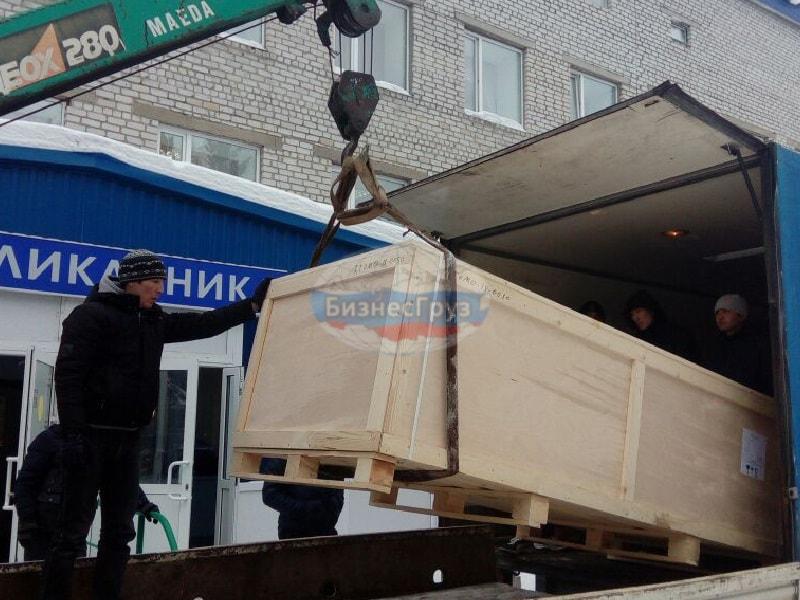 Разгрузка перемещение мед. оборудования в Крыму