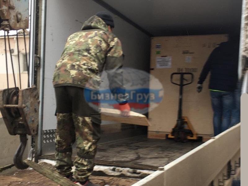 Разгрузка и подъем медицинского оборудования на 2 й этаж в г. Астрахань