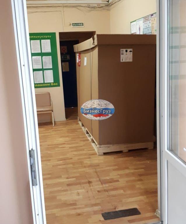 Такелажные работы по выгрузке медицинского оборудования г. Волгоград